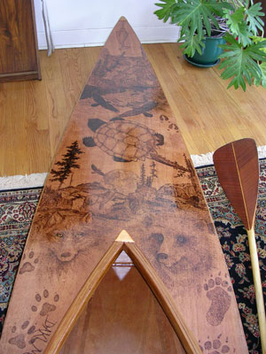 Kayak Deck Art, Daki Menan